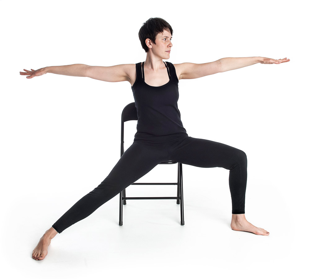 What is chair yoga meaghan burridge for Furniture yoga