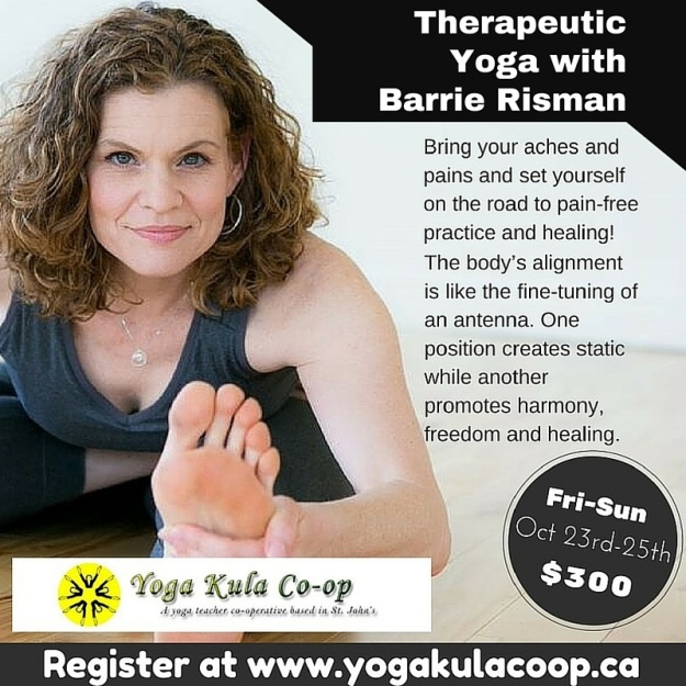 Barrie Risman Therapeutic Yoga 2