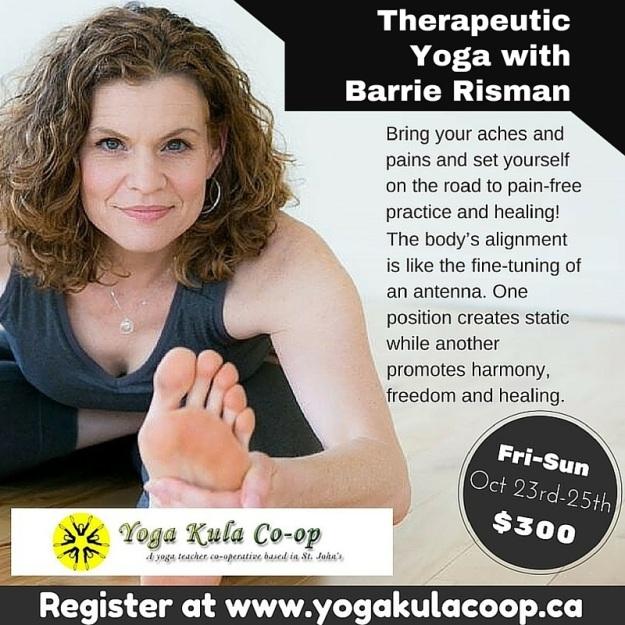 Barrie Risman Therapeutic Yoga 2